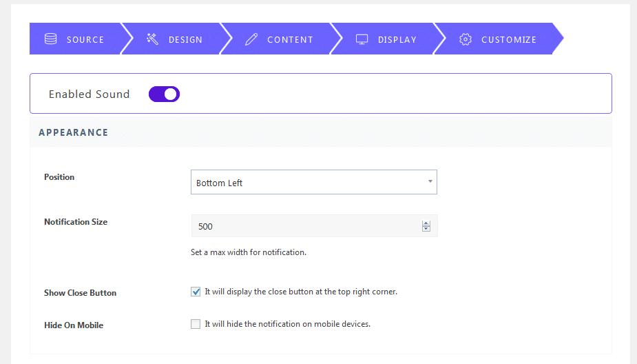 Thông báo thông báo MailChimp