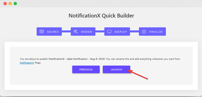 NotificationX